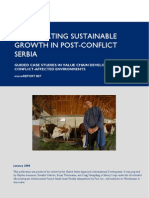 mR 87 - Accelerating Sustainable Growth in Post-Conflict Serbia