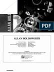 28313 Allan Holdsworth Booklet guitar instructional video pdf 80s with scales
