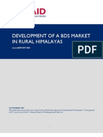 mR 85 - Impact Assessment of at India Project Entitled Development of a BDS Market in Rural Himalayas