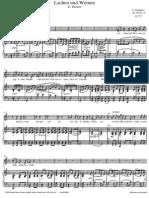 Schubert Lachen Und Weinen[1]