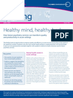 Briefing 179 Healthy Mind Healthy Body MHN
