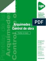 10.- Arquímedes y Control de Obra - Plantillas de Listados