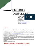 Security Consultant Monthly Dec 08
