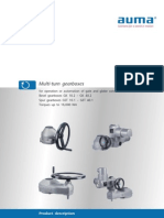 Gear Box Selection in Gate Valve