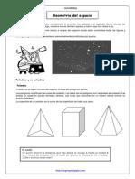 Geometría en el espacio