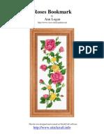Marque page des roses