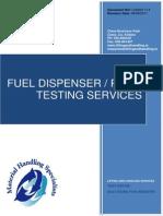 Fuel Dispensing Pump Testing