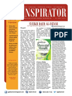 INSPIRATOR 8 Okt 2013 - Syeikh Daud Al-Fatani