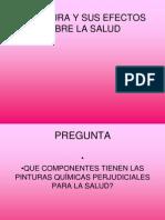 La Pintura y Sus Efectos Sobre La Salud.ppt