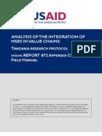 mR 72c - Tanzania Country Study