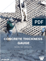 Concrete Thickness Gauge