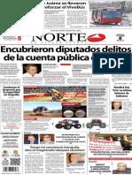 Periódico Norte de Ciudad Juárez 8 de Octubre de 2013