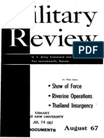 Military Review August 1967