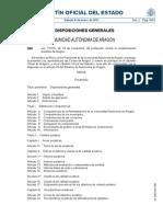 226-Ley7-2010 Contaminacion Acustica Aragon
