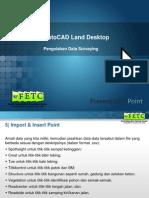 AutoCAD LD Surveying Module - Day#2