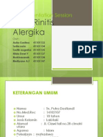 Rhinitis 2012