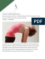5 Steps to Safer Backbends _ Yoga International