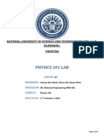 Physics 101 Labreport Group b7