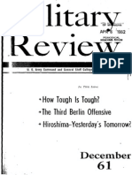 Military Review December 1961