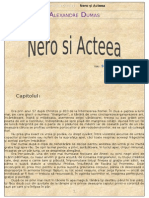 Alexandre Dumas - Nero Si Acteea