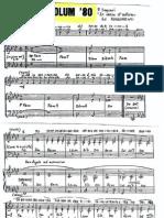 [spartito] SYMBOLUM 80 - spartito per coro e organo