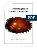 Wetmatigheid Universum