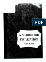 Nef, John-A Search for Civilization