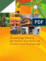 Knowledge Swaraj an Indian S&T Manifesto