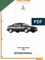 Thatcham Ford Cougar Methods Manual