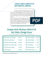 HH Yom Kippur Appeal