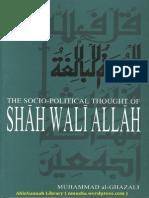 TheSocio PoliticalThoughtOfShahWaliallahByDrMuhammadAl Ghazali