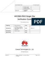 W RNO Single Site Verification Guide