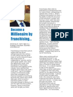 Become a Millionaire by Franchising