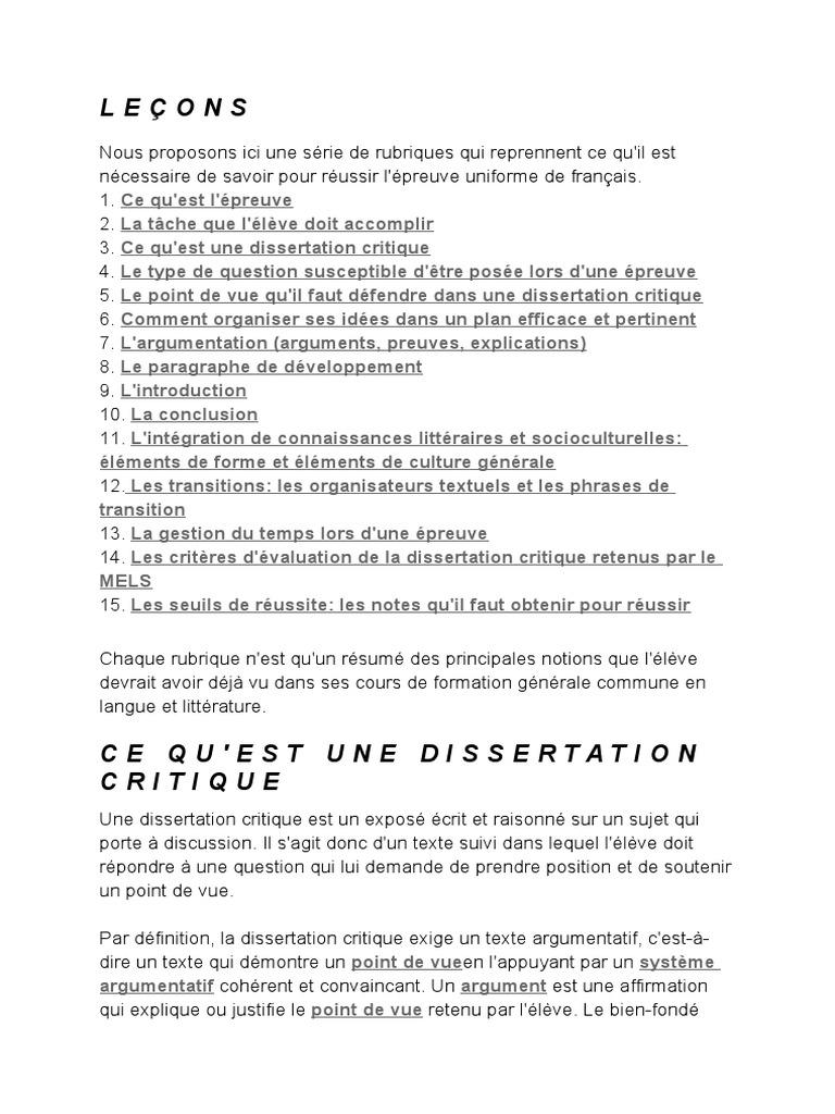 dissertation sur la litterature haitienne