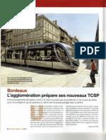 TCSP Bdx Ville, Rail&Transports Juillet 2009