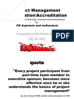 PM Certifications & Accreditations