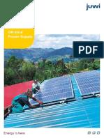 Off grid Solar power supply