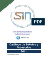 Catálogo de Señales