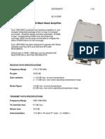 MHA 1800 MHz Datasheet