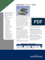 Powerware Modbus Card