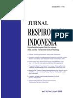 Jurnal Respirologi Indonesia 2010