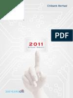 2011 Citibank Berhad Annual Report