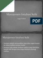 Manajemen Intubasi Sulit