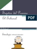 """Sujetos Del Proceso """"El Tribunal"""""""