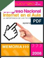 Memoria - Congreso Internet en El Aula