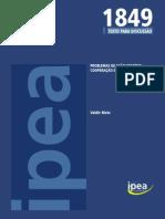 Problemas de açao coletiva_Cad IPEA_td_1849