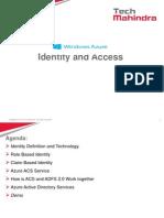 Azure Identity 6 Sep 2013