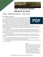 DEVOCIONAL 100 DIAS DE ORAÇÃO