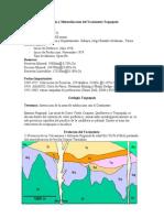 Geologia y Mineralizacion Del Yacimiento Toquepala
