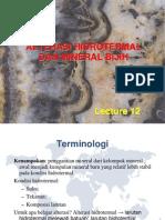 Bab 12 Alterasi Hidrotermal Dan Mineral Bijih